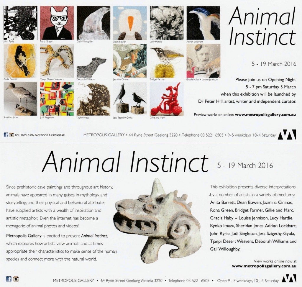 "'Animal Instinct"" group show"